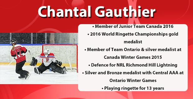 Chantal Gauthier Profile