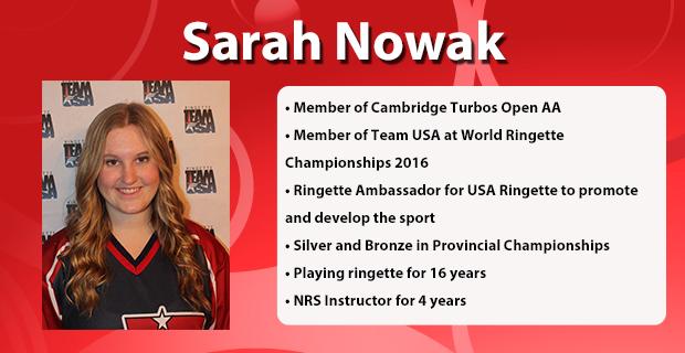 Sarah Nowak Profile