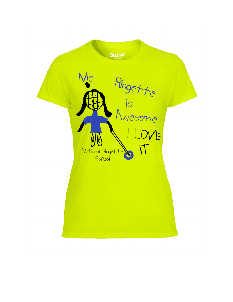 T-Shirt Ringette is Awesome