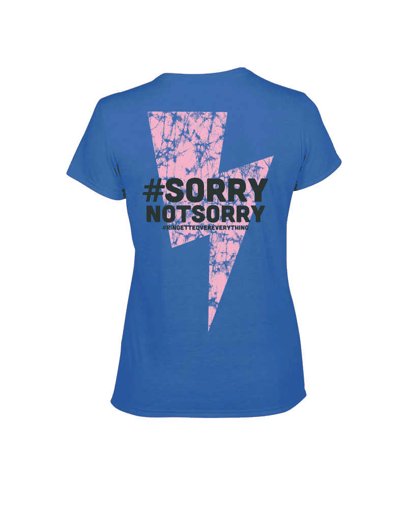 T-Shirt Sorry Back