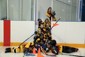 U9 Black Waterloo Flame Flashers