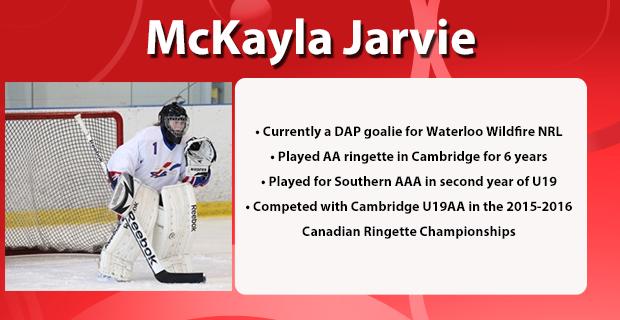 McKayla Jarvie Profile
